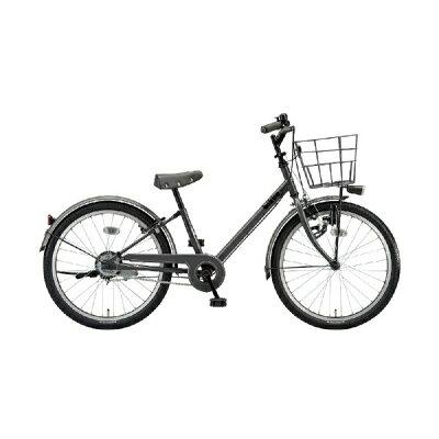 ブリヂストン BRIDGESTONE 22型 子供用自転車 ビッケ j E.XBKダークグレー/シングルシフト BKJ22