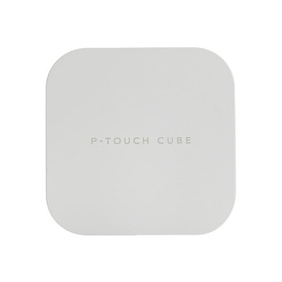 brother P-TOUCH CUBE ラベルプリンター PT-P300BT