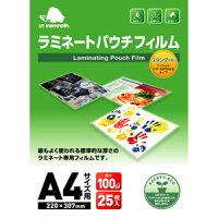 マンモス ラミネートパウチフィルム 25枚パック A4サイズ MLF-025-A4