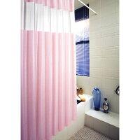 カーテンSLB-3 スカイライトバスカーテン 120cm丈×178cm丈 ピンク