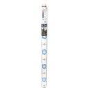 貼ってはがせる!床用 リノベシート ブルー モロッコタイル 90cm×180cm REN-04 1083821