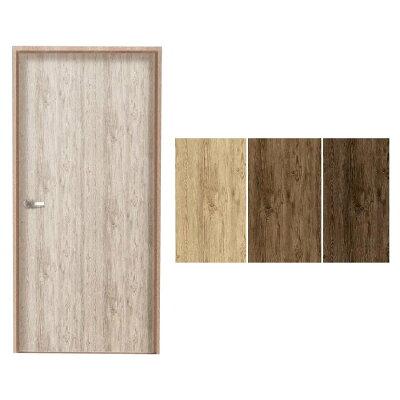 door deco 室内用ドア装飾シート 粗木   dod-01