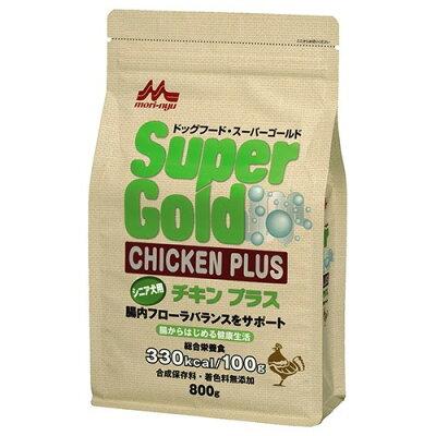 スーパーゴールド チキンプラス シニア犬用(800g)