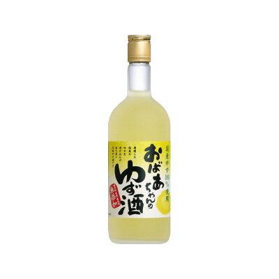 中埜酒造 國盛 おばあちゃんのゆず酒 720
