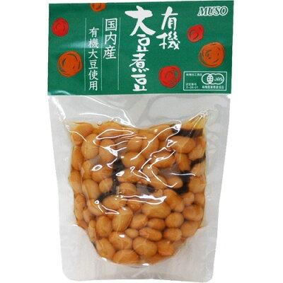 ムソー 有機大豆煮豆(145g)