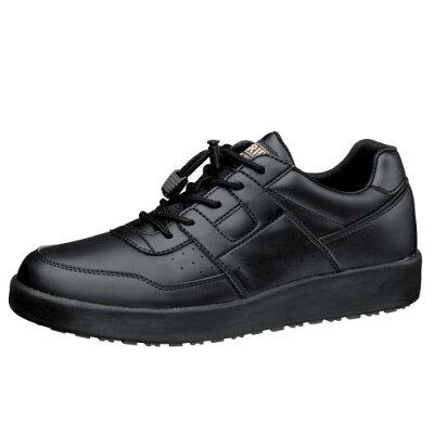 ミドリ安全 2125077411 超耐滑軽量作業靴ハイグリップ Hー711N 黒26.0cm