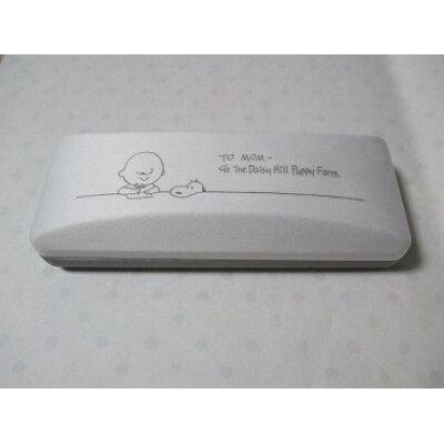 マリモクラフト スヌーピー クロス付きメガネケース STUDY/CB&SN MAMS0071