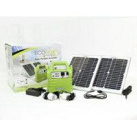 ユーザー(USER) ソーラーポータブルジェネレーターキット ECOBOXX 160 U-P001