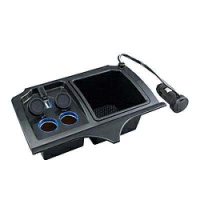 ヤック ホンダ フィット専用フロントコンソール電源BOX SY-H9
