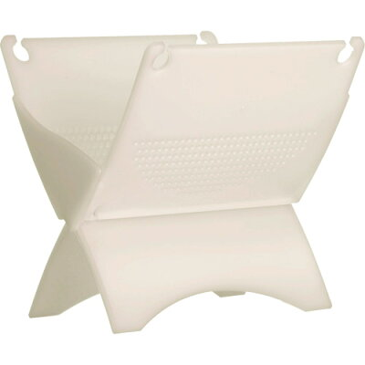 クード 折りたためる 生ゴミ水切り器 ホワイト KUDGDS W(1コ入)
