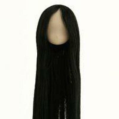 植毛ヘッド 11-01 ホワイティ ブラック ドール用衣装 オビツ製作所