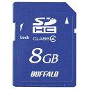 BUFFALO Class4 SDHCカード 8GB RSDC-S8GC4B