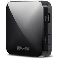 BUFFALO 無線LANルーター WMR-433W-BK