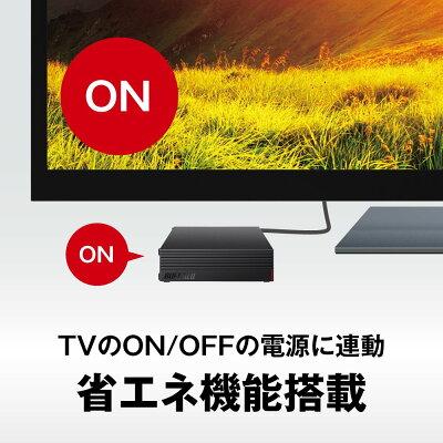 BUFFALO 外付けHDD  HD-LD4.0U3-BKA