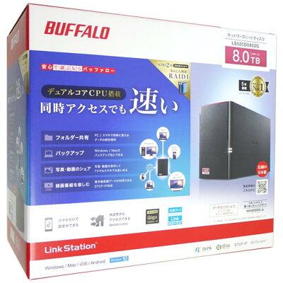 BUFFALO ネットワークHDD LS520D0802G