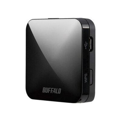 BUFFALO トラベルルーター 無線LAN親機 WMR-433W2-BK