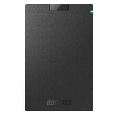 SSD-PG480U3-B/NL バッファロー USB3.1 Gen1 対応 外付けポータブルSSD 480GB WEB限定商品の為、パッケージは簡素化