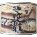 梅田食品 そばたれ缶詰 225g