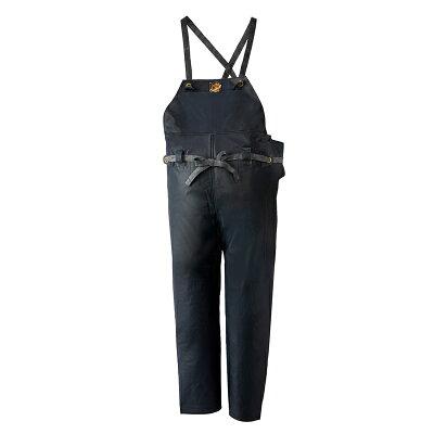 ロゴス LOGOS クレモナ水産胸当て付ズボン ゴム式 2号 鉄紺 10061182