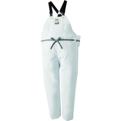 ロゴス 12063612 マリンエクセル 胸当て付きズボン膝当て付きサスペンダー式 ホワイト L