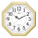 ランデックス 八角電波掛時計 金閣掛時計