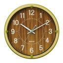YW9152GR ランデックス 掛け時計 MOKUZOグリーン