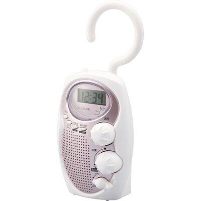 コイズミ シャワーラジオ ピンク SAD-7713/P(1台)