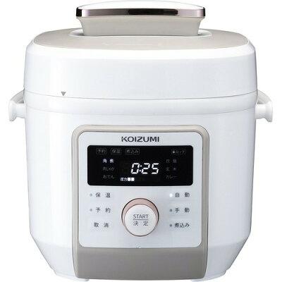 コイズミ 電気圧力鍋 KSC-4501/W(1台)