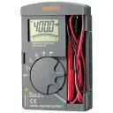SANWA SANWA 三和電気計器 ポケット型デジタルマルチメータ PM11 3335194