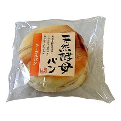 食祭館 天然酵母 メープルパン 1個