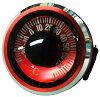 evertrust エバートラスト 温度計 メタリックサーモメーター オイル式 100m防水製 レッド NO810RED