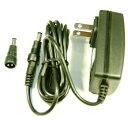 パトス ACアダプター PAS21508  DC15V/0.8A  プラグ外径5.5φ内径2.1φ長さ9.5mm 付属プラグ5.5φ×2.5φ×9.5mm付