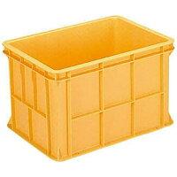 TRUSCO トラスコ中山 工業用品 サンコー ジャンボックス本体#100オレンジ