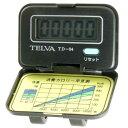 TELVA (テルバ) 歩数計 Doppo デジタル クリップ式 TD-04 ブラック