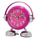 クレファー フットベル目覚まし時計 ピンク TBC5604PK