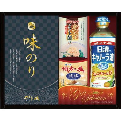 調味料 ギフト 味付け海苔 油 日清 & やま磯 バラエティギフト LC-20R 18