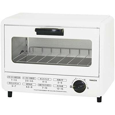 YAMAZEN オーブントースター YTA-860(W)