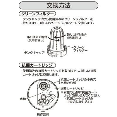 ヤマゼン 加湿器用交換カートリッジ MZC-13