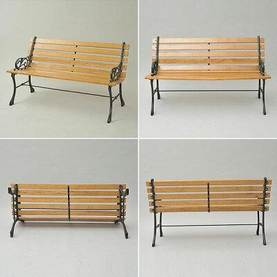ガーデンマスター スチールベンチ PB-10(BR) ガーデンベンチ パークベンチ ガーデンチェア