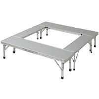 キャンパーズコレクション ファイアープレイステーブル FPT-100(SL)