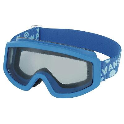 SWANS(スワンズ)子供用 小学校低学年モデル キッズ ジュニア スノーゴーグル スキーゴーグル 雪遊び 101S BLBLブルー×ブルー