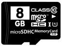 microSDHCカード Class10 UHS-I対応 8GB SD変換アダプター/プラケース付き MFMCSDHC10X8G_BULK