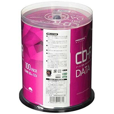 HIDISC データ用 CD-R VVDCR80GP100P
