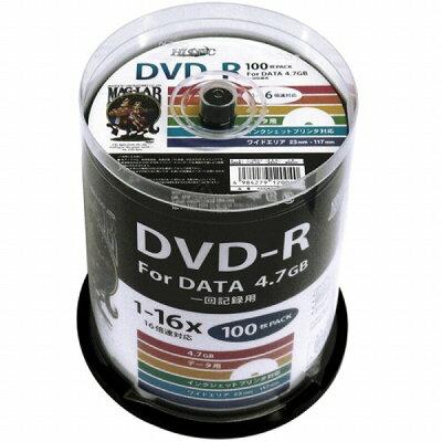 HIDISC DVD-R HDDR47JNP100