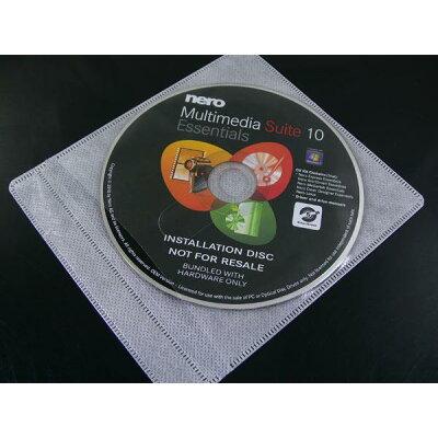 HIDISC 不織布 パッキング 両面タイプ ML-DVD-AB100PW