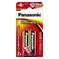 パナソニック パナソニック アルカリ乾電池 単4形 LR03XJ/2B(2本入)