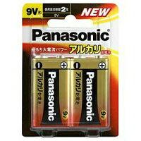 パナソニック アルカリ乾電池 9V形 2本パック 6LR61XJ/2B