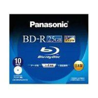 Panasonic  Blu-rayディスク BD-R LM-BR25LDH10