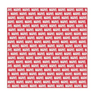 マーベル レジャーシートLL  レッドボックスロゴ マーベルコミック 812406 MARVELCorner