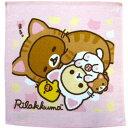 リラックマ RK93KP-G ウォッシュタオル のんびりネコ/PI 162167